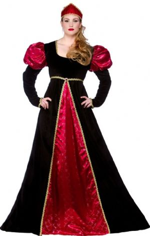 Medieval Queen Plus Size Costume (EF2147)